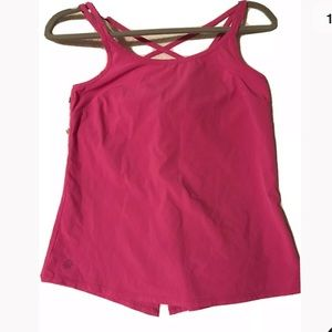 Pink Athleta Strappy Tank Top XXS🌸